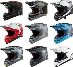 Alpinestars Supertech M10 Carbon MIPS Helmet - MX Dirt Bike Off-Road MTB ATV