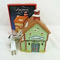 Americana Village Toy Shop Store Santa's Best Vintage 1991 National Rennog