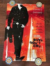 BOYS DON'T CRY 27X40 DS MOVIE POSTER ONE SHEET NEW AUTHENTIC