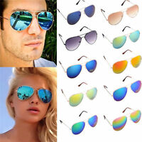 Unisex Vintage Retro Women Men Glasses Fashion Mirror Lens Sunglasses GM