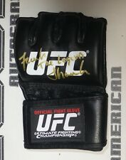 Frank Shamrock Signed Official UFC Fight Glove BAS Beckett COA Legend Autograph