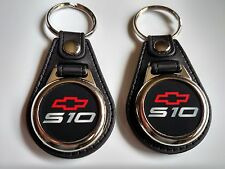 CHEVY S10 KEYCHAIN 2 PACK FOB TRUCK LOGO RED