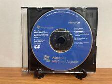 Windows Vista Anytime Upgrade 32 Bit *Great Shape* Fast Ship!