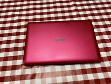 Pink Asus Laptop 11.6 Inch, Touchscreen, Intel  1.86GHz, 4GB, 480GB, Win 10PRO