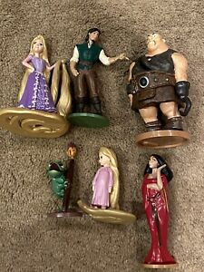 Disney Store Tangled Playset Figures (They Also Make Great Cake Toppers!)