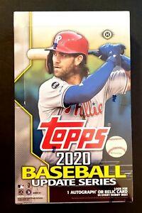 2020 Topps Update Series Baseball Hobby Box Factory Sealed 24 Packs