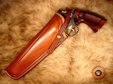EL PASO SADDLERY TOM THREEPERSONS TOOLED CROSSDRAW HOLSTER FOR S&W N FRAME LH