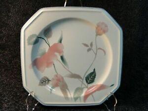 """Mikasa Silk Flowers Chop Plate 12 1/4"""" F3003 Octagonal Shape Platter Excellent"""