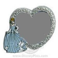 Cinderella Marq 00004000 Uee Collection Silver Heart Photo Frame Le 1000 Disney Pin 68230