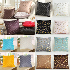 43*43CM Modern Cushion Cover Plaid Embroidered Throw Home Pillow Grid Cover Case