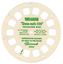 View-Master Focusing Reel for the Stereo-Matic 500 Projector