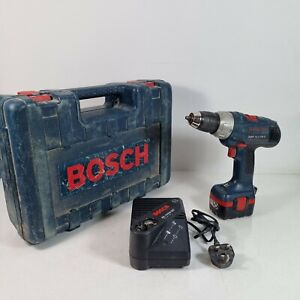 Bosch GSR 14.4 VE-2 Cordless Drill Driver 14.4v 1x batteries and carry case