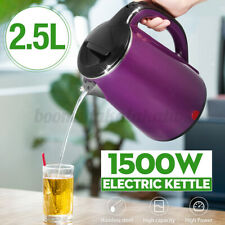 2.5L 1500W 220V Stainless Steel Electric Kettle Jug Water Boiler Kitchen Heater