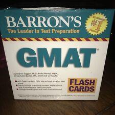 Barron's GMAT Flash Cards