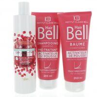 Hyaluron Hair Shampoo 300ml + Hairbell Shampoo & Conditioner 2x200ml Hair Growth