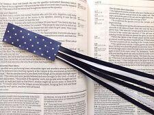 MILITARY SERIES 6 ribbon bookmark multi page US AIR FORCE handmade