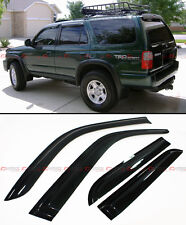 FOR 1996-2002 TOYOTA 4RUNNER N180 OFFROAD STYLE SMOKE WINDOW VISOR RAIN GUARD