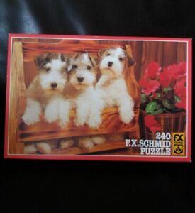 Puzzle Schmidt 240 pièces Fox terrier