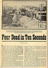 EL PASO TX - FOUR DEAD IN TEN SECONDS + GENEALOGY