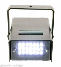 Effetto Luce Strobo MINISTROBE LED per PUB DISCOTECHE DISCO LIGHT DJ DEEJAY new