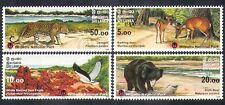 Sri Lanka 2005 Leopard/Eagle/Bear/Deer/Birds/Animals/Nature/Wildlife 4v (n37832)