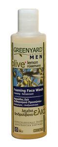 Greenyard Naturals Foaming Face Wash for Men (200ml) EXPRESS P&P