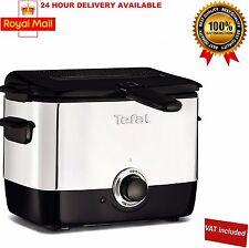 Tefal TEF-FF220040 Minifryer - Black Non Stick 1000W Mini Deep Fryer New