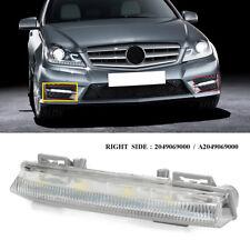 Right DRL Daytime Running Light Fog Lamp FOR MERCEDES C / E CLASS W204 W212 R172