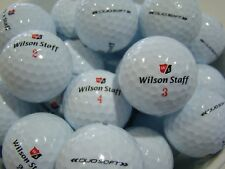 50 WILSON DUO SOFT GOLF BALLS IN MINT/A GRADE CONDITION