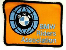 Lot of 25 Vintage BMW Motorcycle Rider Association Logo Embroidered Patch SewOn