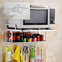 NEW Microwave Oven Bracket Wall Mount Shelf Kitchen Cooker Holder Storage Rack