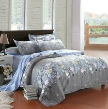 Brand New 3 Pieces 400 thread BLOOM ROSEMARY DOUBLE Size Duvet Doona Cover Set