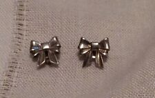 James Avery Sterling Silver 925 Ribbon Bow Post Earrings