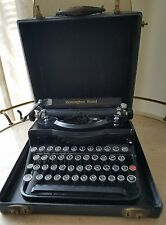 Vintage Remington Rand Model 1 Portable Typewriter With Original Case