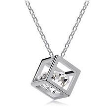 Crystal jewelry wholesale Eight cubes eight heart arrow zircon necklace