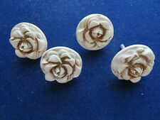 Lot Set 4 Vintage Kirsch Drapery Curtain Tieback 