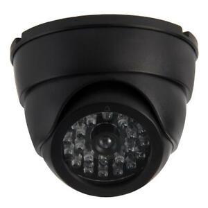 2 x Dummy CCTV Camera Dome – Fake Security Surveillance Camera Outdoor Indoor