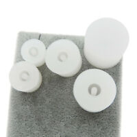 5pcs/lot White Silicone Resin Beads Casting Molds Tools Pendant DIY Accessories