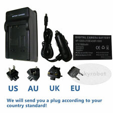 NP-120 3.7V Battery Pack & Charger For Fuji FinePix Optio 450 550 F10 F11 D-LI7