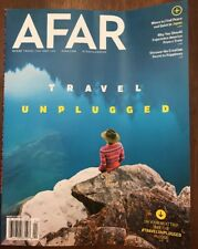 AFAR MAGAZINE TRAVEL UNPLUGGED JAPAN CRAOTIAN MARCH APRIL 2018 W/No Label