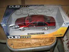NEW 1/18th JADA Dub City Big Ballers Chevy Impala SS 1995 1996 Red/Silver MISB