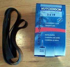 CHAMBRE A AIR HUTCHINSON  19 pouce +  FOND JANTE (Neuf) SOLEX  1400 au 3800