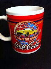 Coca Cola Mug Coffee Cup 1970's ad I'D LIKE TO BUY THE WORLD A COKE 31667