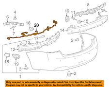 Chevrolet GM OEM 14-15 Impala Rear Bumper-Harness 23230435