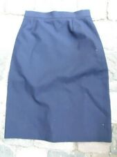 MARINE NATIONALE : JUPE BLEUE 1997 taille 70 /  BLUE FRENCH NAVY SKIRT