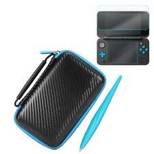 3 in1 Schutzhülle Tasche Case Displayschutzfolie Satz für Nintendo New 2DS XL/LL