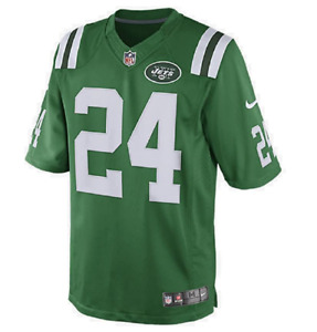 Nike NFL Youth New York Jets Darrelle Revis #24 Color Rush Player Jersey, Green