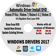Drivers Restore DVD for Dell Inspiron 1470 with Windows XP-Vista-7-8-8.1-10
