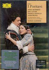 Bellini I Puritani DVD NEW Anna Netrebko Eric Cutler Metropolitan Opera Summers
