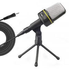 Pro Kondensator microphone Mikrofon Komplett Set für Studio Aufnahme